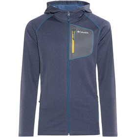 Columbia Jackson Creek II Hoodie Men Phoenix Blue Heather/Graphite